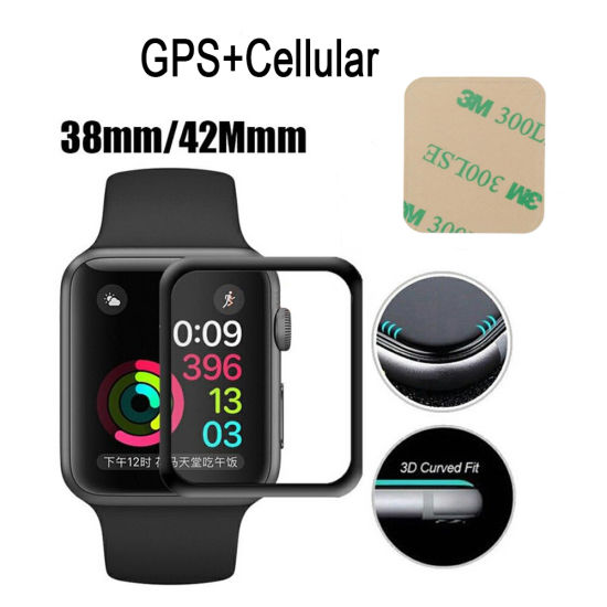 Sinbeda LCD Screen for Apple Watch Series 3 LCD Display 38mm 42mm  GPS+Cellular Digitizer Assembly LCD Pantalla Replacement