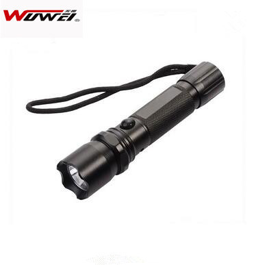 High Brightness LED Police Flashlight SWW-04 pictures & photos