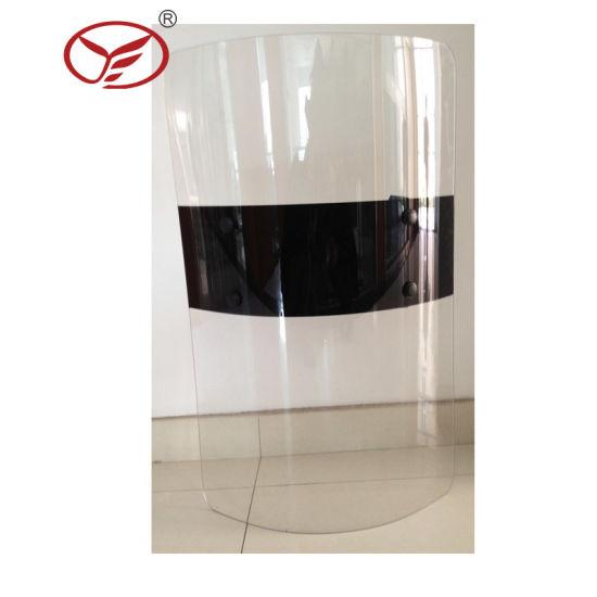 China Polycarbonate Bullet Proof Ballistic Anti Riot Shield