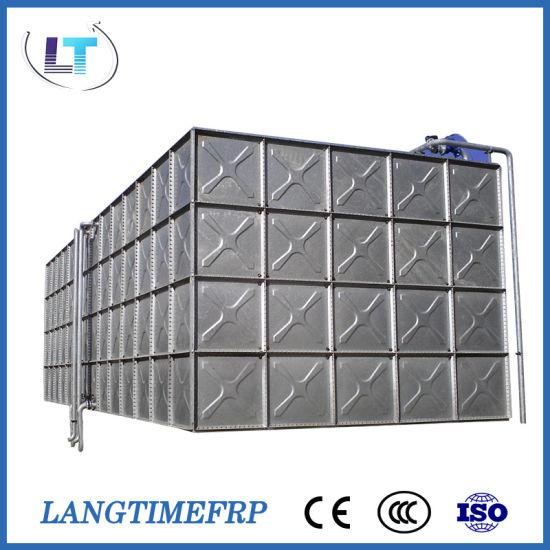 80 Cubic Meter Galvanizing Steel Overhead Assemble Water Tank