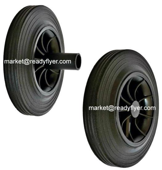 200mm Rubber Wheel for Plastic Waste Bin
