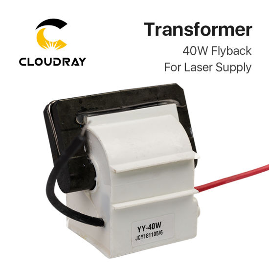 Cloudray 40W Formal High Voltage Flyback Transformer for Power Supply pictures & photos