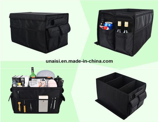 1pc Cargo Organizer Foldable Multi-purpose Storage Box Bag Case For Car Trunk