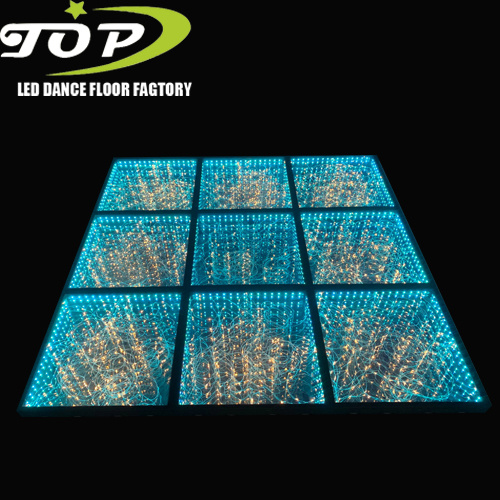 Wholesale 10X10 Portable Starlight LED 3D Infinity Dance Floor