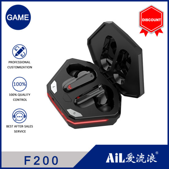 Free Sample Appearance Patent Private Model 9d HiFi Stereo Wireless Touch Control Bluetooth Game Headphones