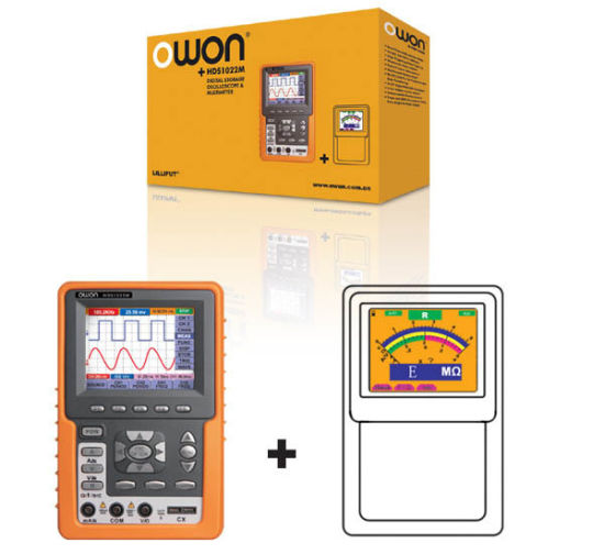 Lilip Hds2062m Handheld Digital Oscilloscope / Multimeter / Frequency Meter Three in One