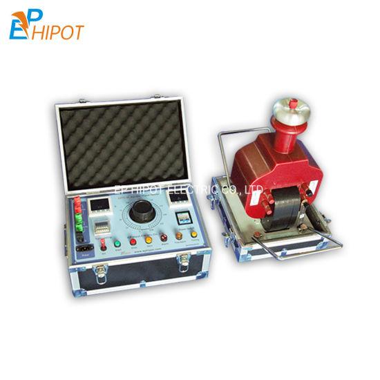 5kVA 100kv Withstand Voltage Tester DC AC Hipot Test Kit