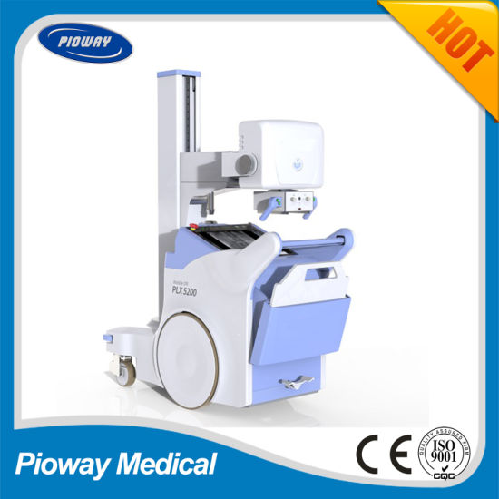 High Frequency 200mA Mobile Digital Radiography System X-ray Machine Plx5200