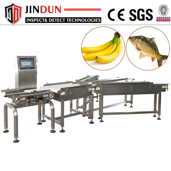 Packing Line Use Automatic Belt Conveyor Check Weigher Machine