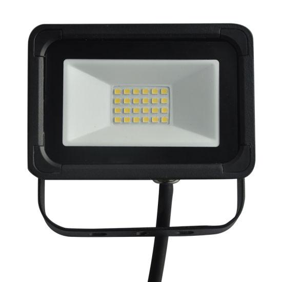 Black Thin 110//240V 10W 20W 30W 50W LED Flood Light Outdoor Lighting Waterproof