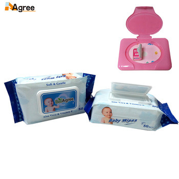 Portable Package Disposable Wet Refresh Tissue Paper, Children Wipes