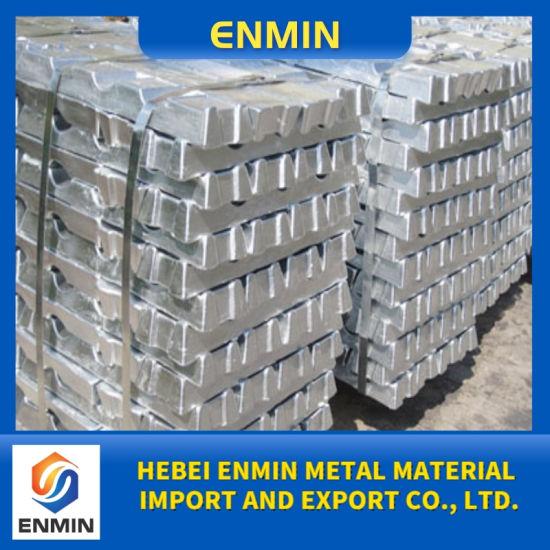 Wholesale China SGS Test 99.99% High Grade Zinc Ingot and Zinc Alloy Ingot