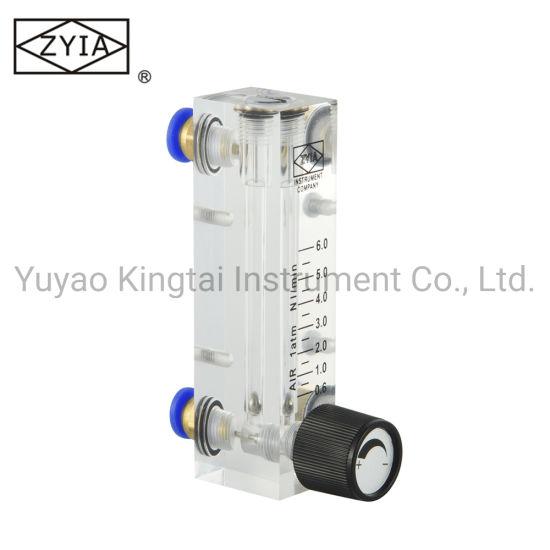 OEM Panel Mount Water Flow Meter Regulator Gas Rotameter