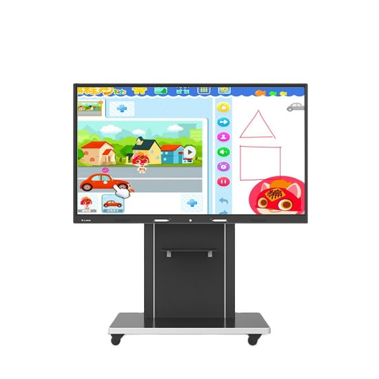 65''75''86''98''100 Inch Electronic Portable All in One Android Smart Board Prices Touch Interactive Whiteboard
