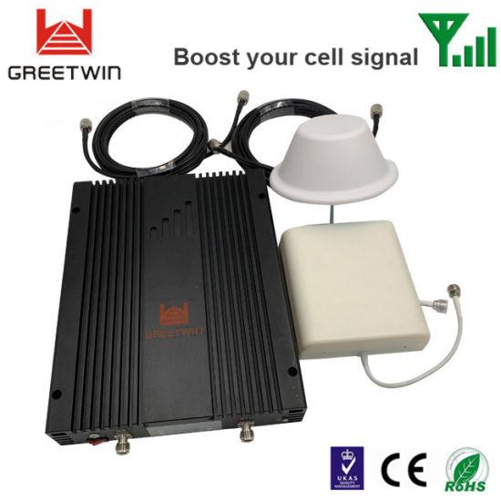20dBm GSM Dcs WCDMA Tri Band Signal Booster for Large House (GW-20GDW)