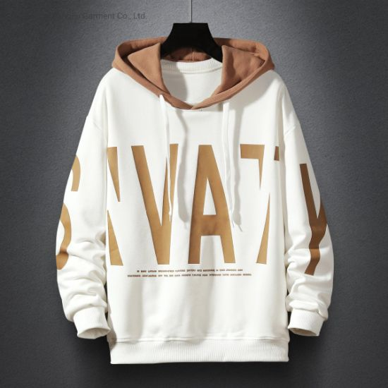 Spring New Style Simple Fashion Hoodie Large Letter Print Men's Hoodie