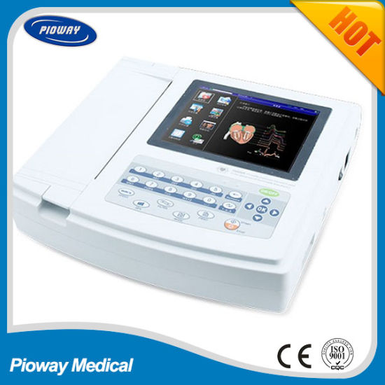 Portable Electrocardiograph ECG Machine with CE Certificate (ECG-1200G)