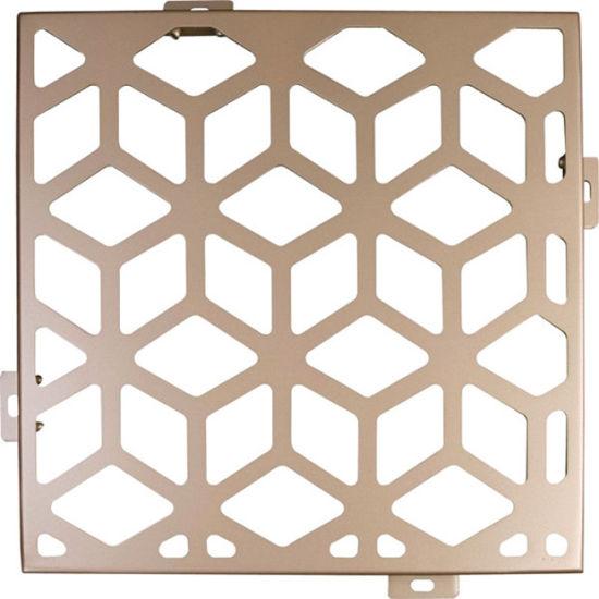 Metal Decoration Material Aluminum Facades Perforated Wall Panel