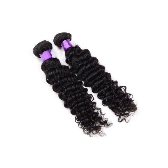 Hot Selling South American Wavy Hair Extension, From China Deep Wave Curly Weft Hair Extension