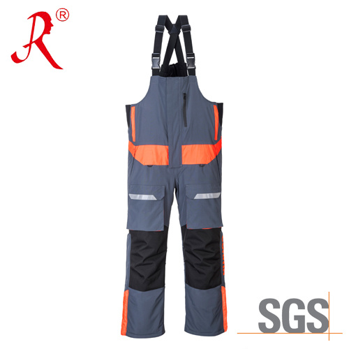 Waterproof Winter Quilted Sea Fishing Bib Pants (QF-9049B) pictures & photos