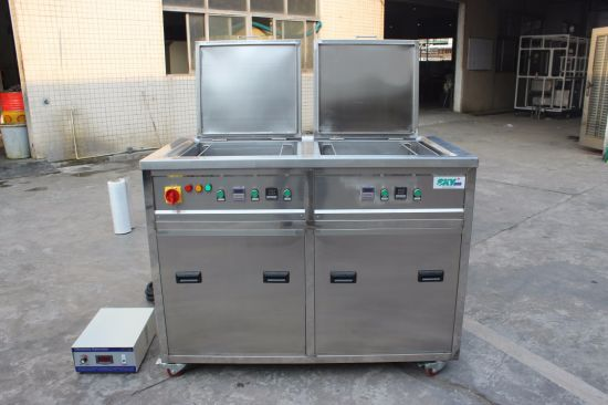 Auto Parts, Aluminum Cylinder Head and Engine Block Efficient Cleaning Tool Ultrasonic Cleaner pictures & photos