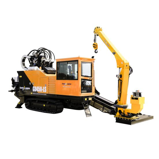 Goodeng HDD Machine GD450-LS Drilling Equipment Horizontal Directional  Drilling Rig with Manipulator