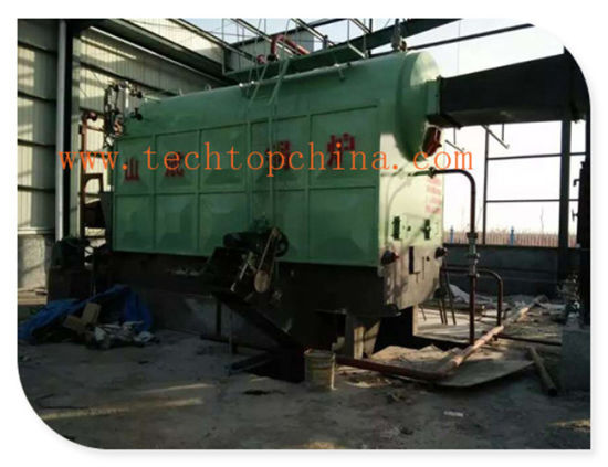 China 1 to 4ton pH Low Pressure Steam Wood Boiler Taishan - China ...