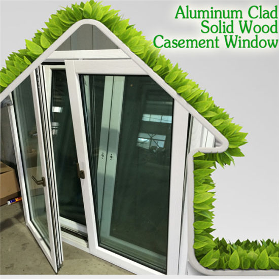 Import Aluminium Casement Window, European Style Solid Oak/Teak/Pine Wood Aluminum Casement Window pictures & photos