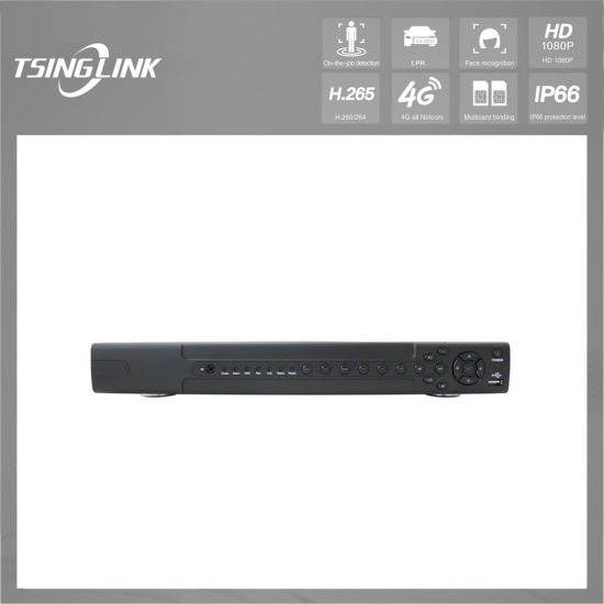 6t SATA Storage 24CH HD Network Onvif Monitoring DVR for CCTV Cameras