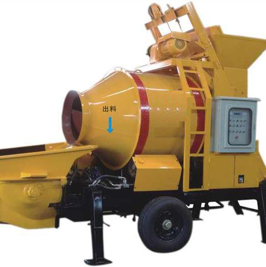 High Quality 350L New Mini Concrete Mixer with Pump pictures & photos