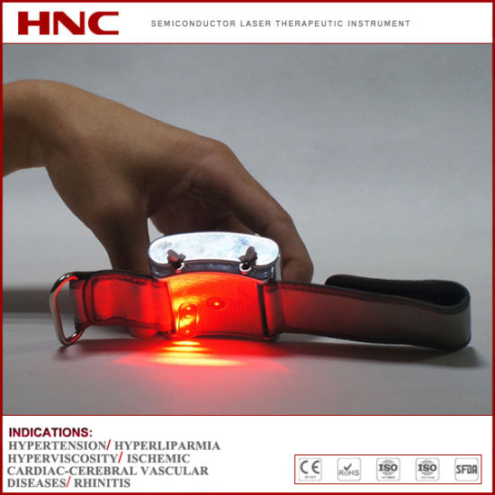 Factory Offer Low Level Laser Therapy for High Blood Pressure, High Blod Fat, High Blood Sugar pictures & photos