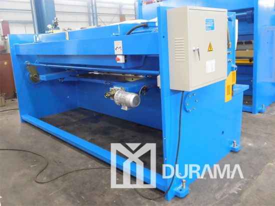 QC12y Hydraulic Swing Beam Shearing Machine (Estun E21 NC Controller) pictures & photos
