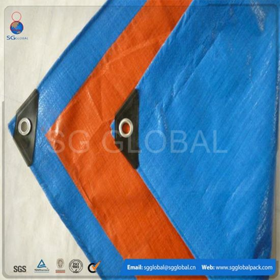 High Tensile Strength HDPE Coated Waterproof Tarps for Sale pictures & photos