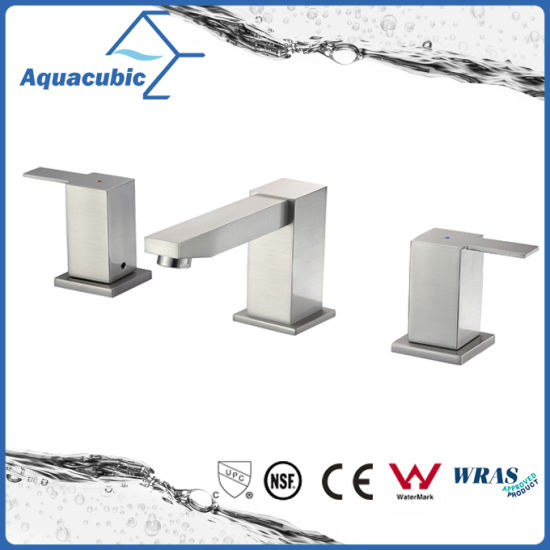 China Upc Cupc Two Handle Bathroom Sink Faucet (AF9200-6) - China ...