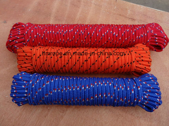 PP Braided Rope-Yellow, Red, Blue, Hank pictures & photos