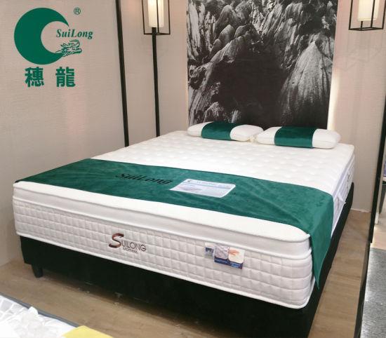 Five Star Hotel Euro-Top Double Pocket Spring Memory Foam Mattress