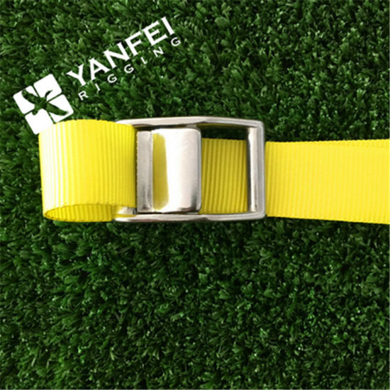 10 Buckled Straps 25mm Cam Buckle 5 meters Long Heavy Duty Load Securing Blue