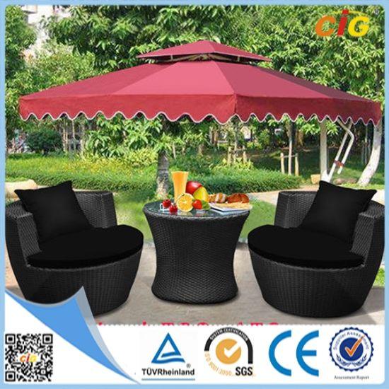 New Model 3PCS With Umbrella Stacking Vase Set Garden