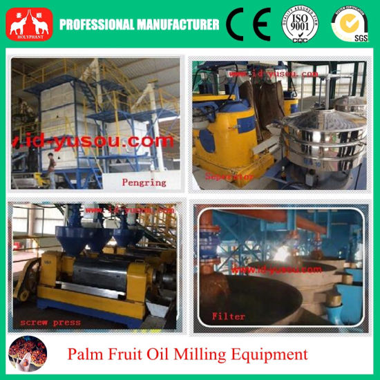 2016 1t-20t/H Plam Oil Processing, Pressing Equipment pictures & photos