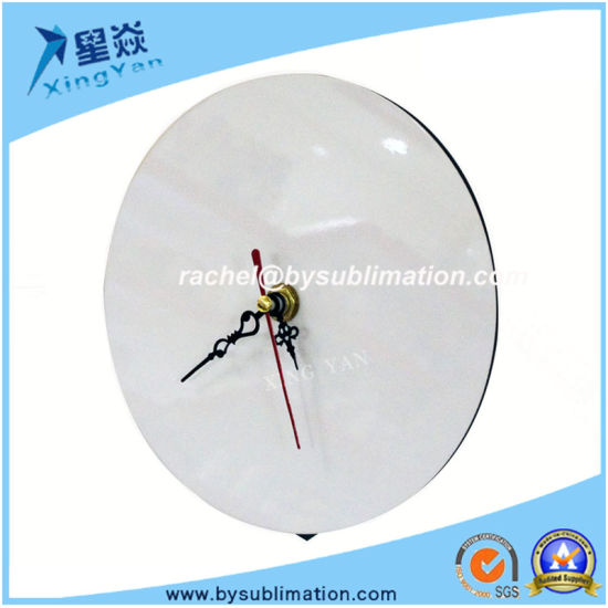 Sublimation Round Wooden Clock with Pointer