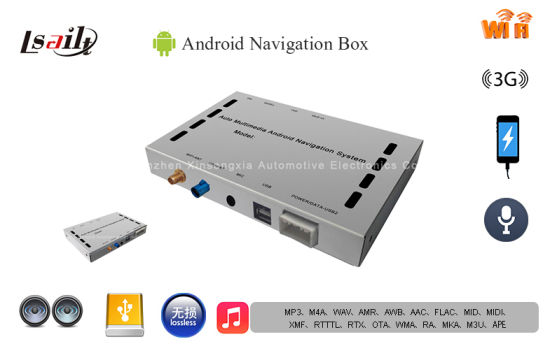 (Multi-language) HD Android Navigator Box on Original Car Unit with 8g Plug and Play