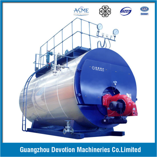 ASME 3 Ton/Hr Oil, Gas, Dual Fuel Steam Boiler with European Burner pictures & photos