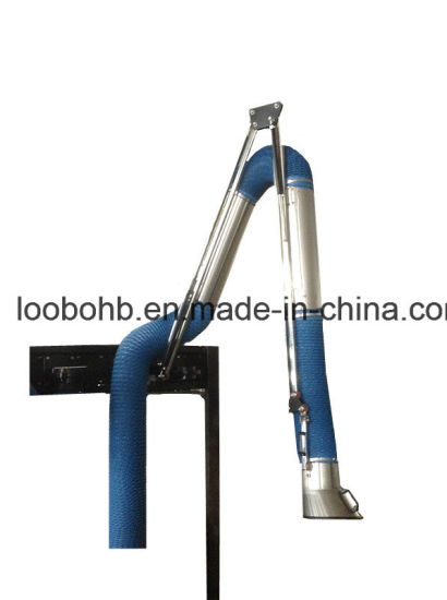 Universal Fume Extraction Arm with Fume Exhaust Hood and PVC Extraction Hose pictures & photos