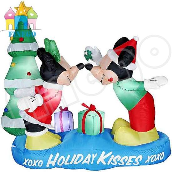 inflatable mickey mouse and christmas tree - Mickey Inflatable Christmas Decorations