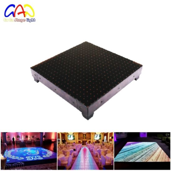 China P Display LED Dance Stage Floor For Wedding Car Show China - Car show display flooring