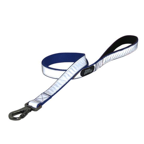 Reflective Safety Nylon Dog Leash with Heavy Duty Locking Hook