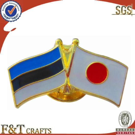 Metal Flag Pin, Lapel Pin (FT1219D)