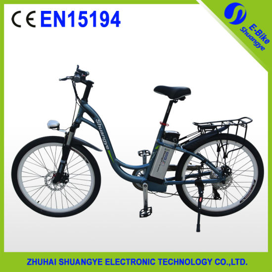 Shuangye Effective-Cost 26 Inch Eletcric Bike Made in China pictures & photos