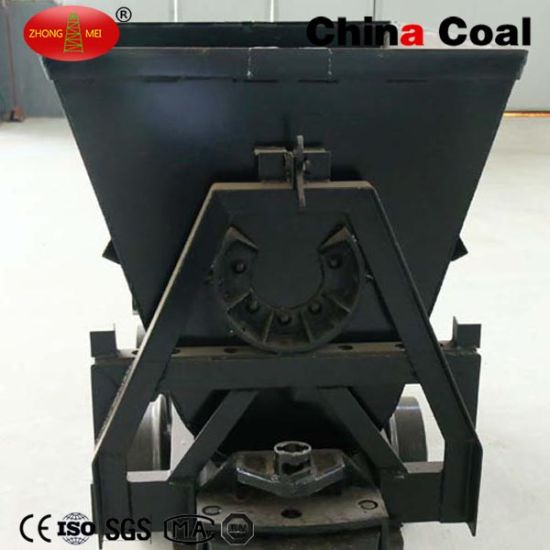 Bucket-Tipping Railway Coal Mine Car pictures & photos