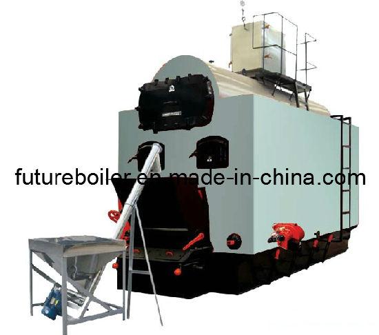 China Biomass Fuel Fired Steam Boiler (DZL4-1.25-M) - China Biomass ...